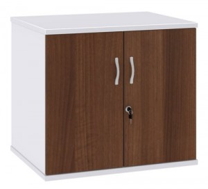 Duo Desk High Cupboard