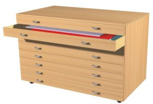 A1 8 Drawer Plan Chest